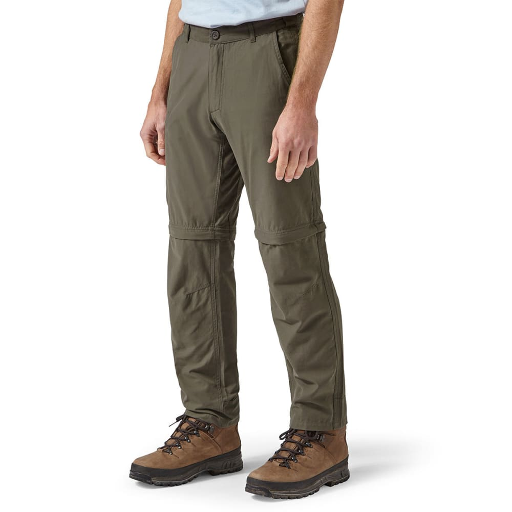 CRAGHOPPERS Men's NosiDefence Trek Convertible Pants - BARK-4A2
