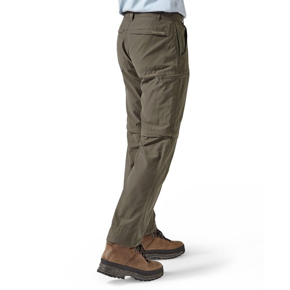 CRAGHOPPERS Men's NosiDefence Trek Convertible Pants - BARK-4A2