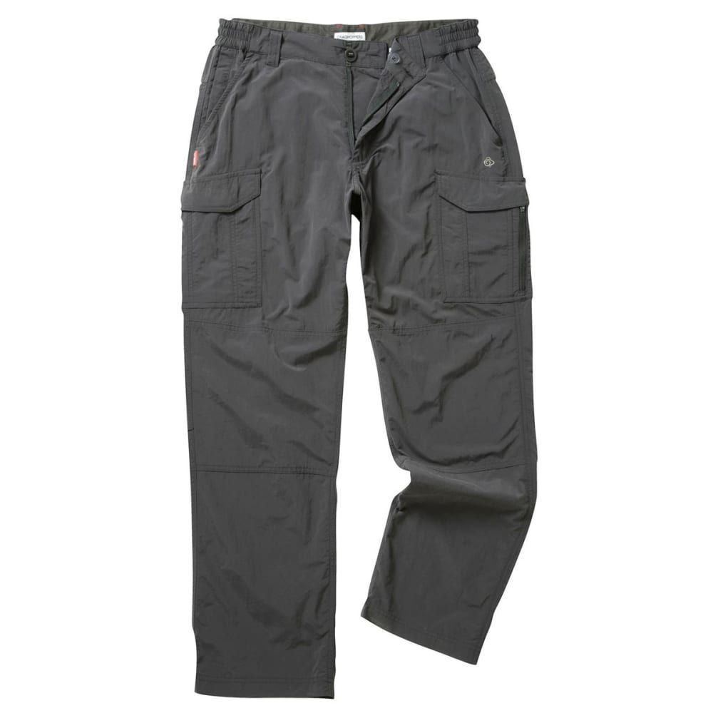 Craghoppers Men/'s NosiLife Cargo II Shorts Black Pepper