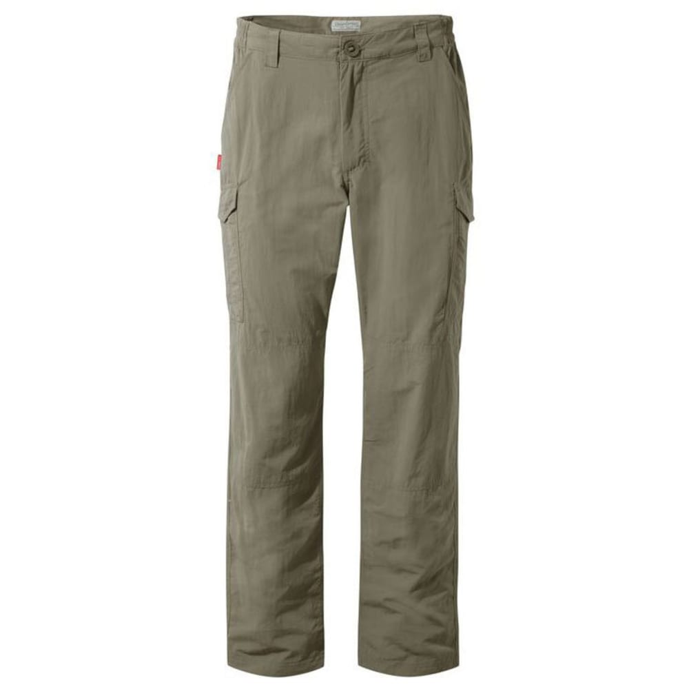 CRAGHOPPERS Men's NosiLife Cargo Pants - PEBBLE-62A