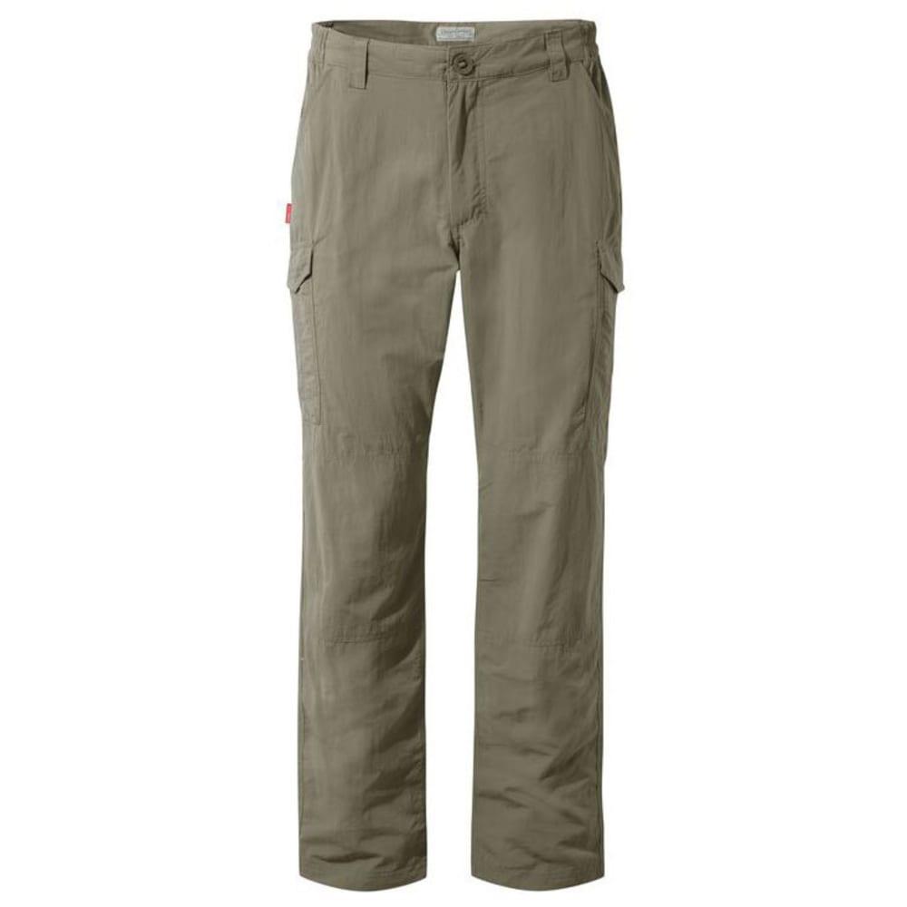 CRAGHOPPERS Men's NosiLife Cargo Pants - PEBBLE-62A
