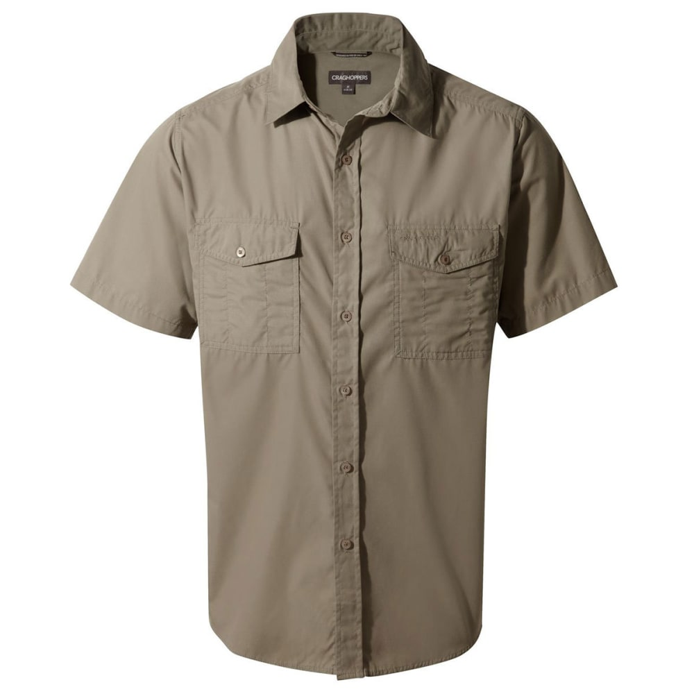 CRAGHOPPERS Men's NosiDefence Kiwi Short Sleeve Shirt M