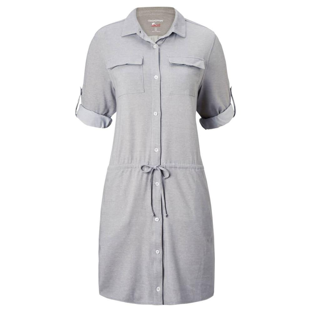CRAGHOPPERS Women's NosiLife Daku Dress - SOFT GREY MARL-3S1