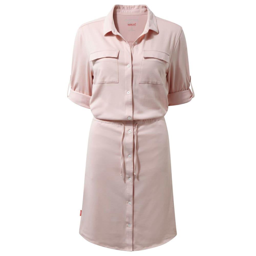 CRAGHOPPERS Women's NosiLife Daku Dress - BLOSSOM PINK-71P