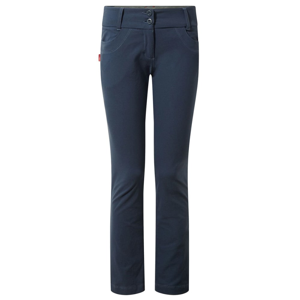 CRAGHOPPERS Wome's Nosilife Clara Pant - SOFT NAVY MARL-7ML