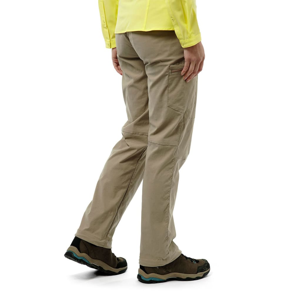 CRAGHOPPERS Women's NosiLife Pro Pants - MUSHROOM-73T