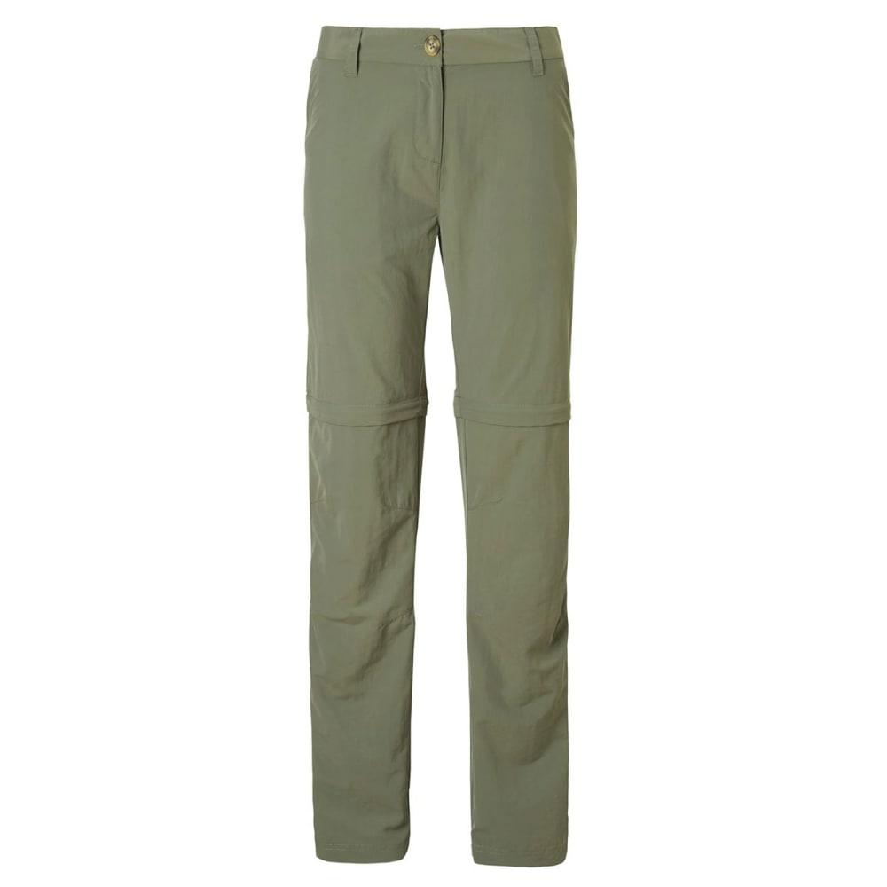 CRAGHOPPERS Women's NosiLife II Zip Off Pants 10/R