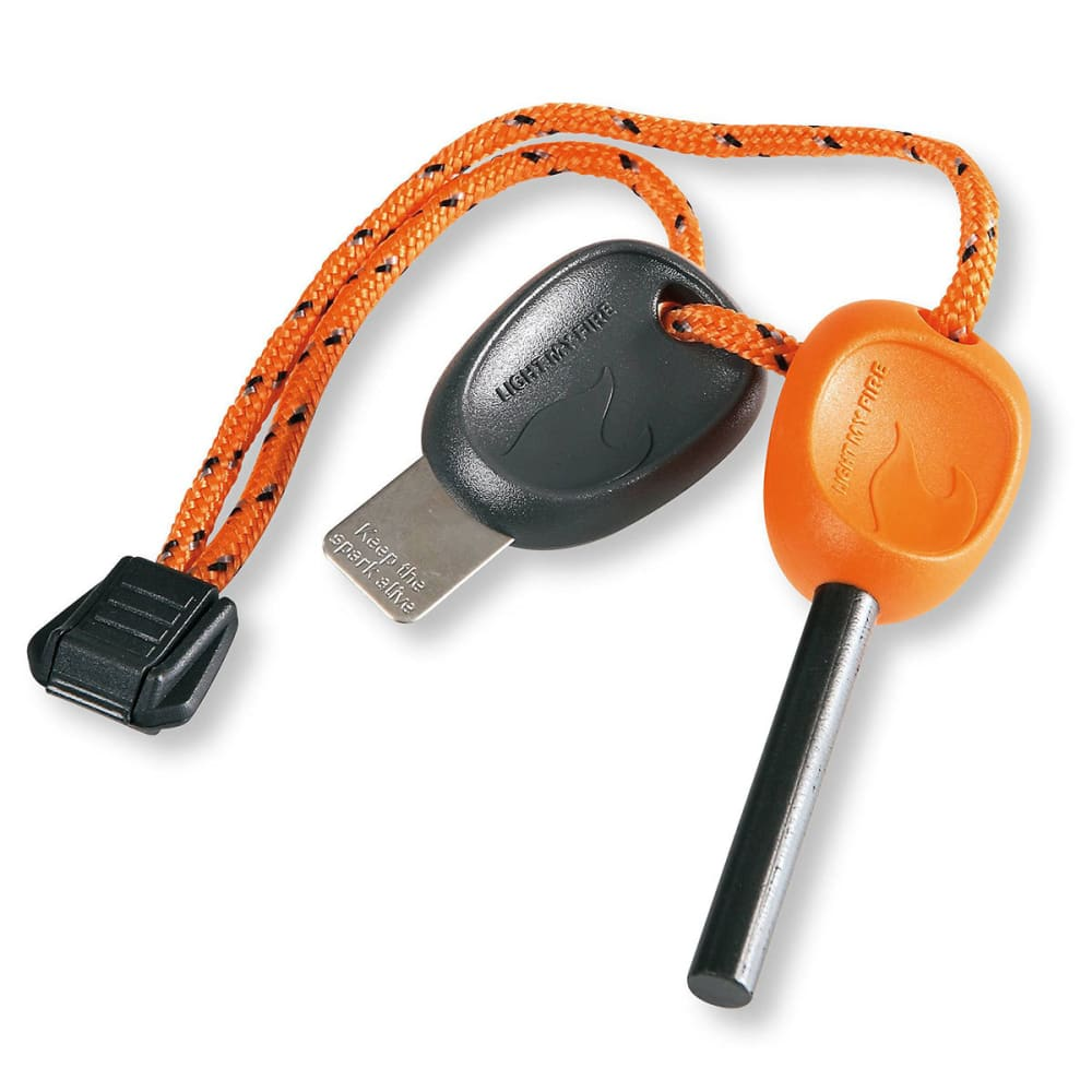 LIGHT MY FIRE Swedish FireSteel Scout 2.0 Fire Starter - ORANGE