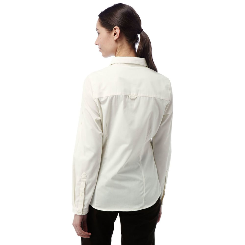 CRAGHOPPERS Women's NosiDefence Kiwi Long Sleeve Shirt - SEA SALT-33A