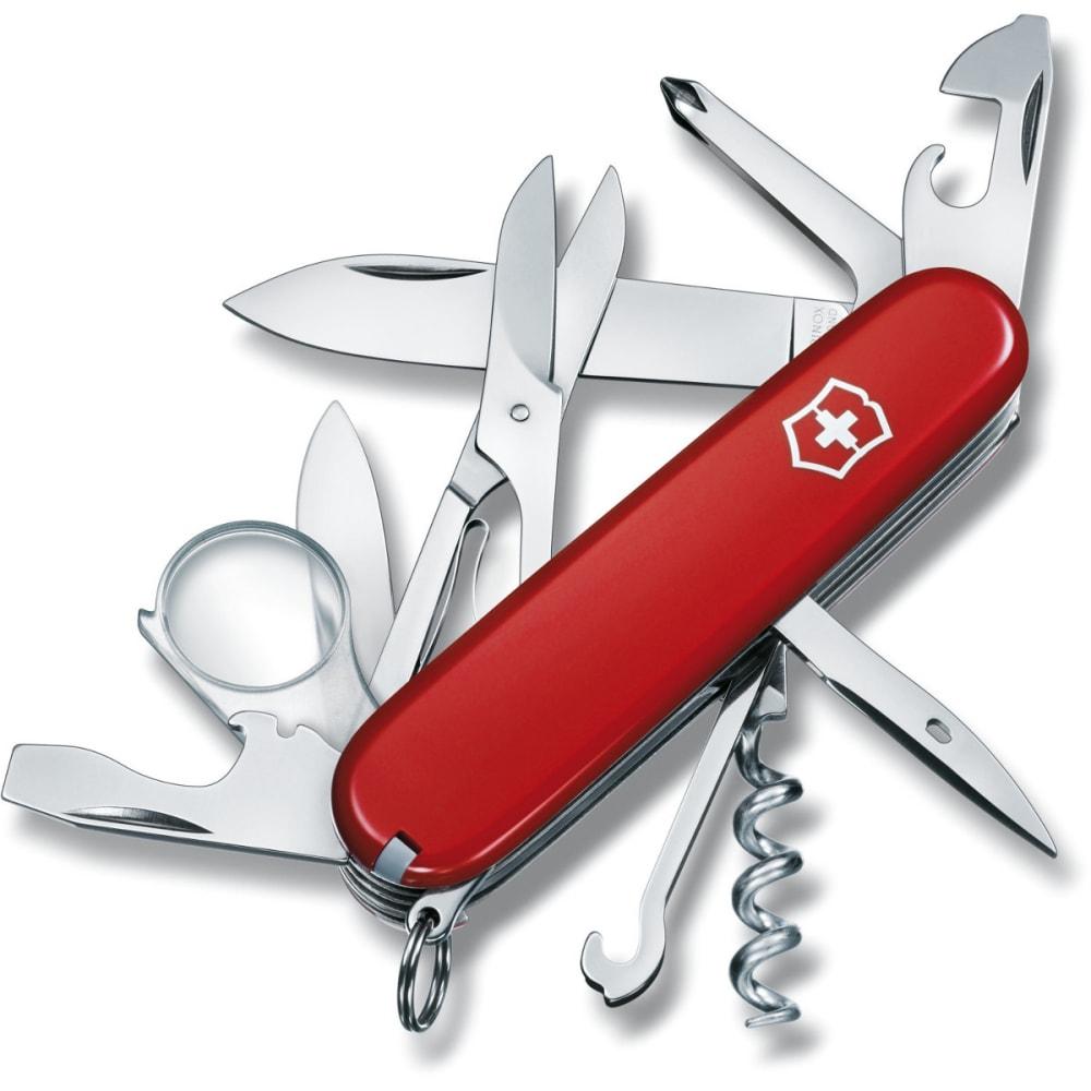 VICTORINOX SWISS ARMY Explorer Pocket Knife - RED