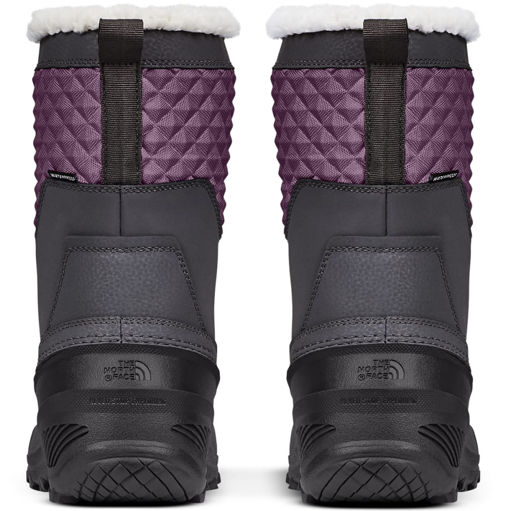 ad519bbaf THE NORTH FACE Girls' Shellista Lace III Waterproof Insulated Winter Boots