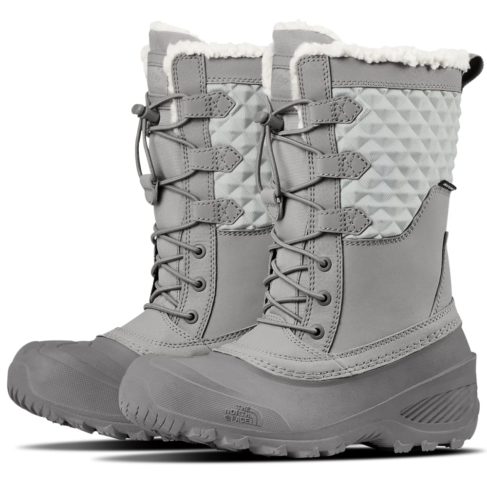 THE NORTH FACE Girls' Shellista Lace III Waterproof Insulated Winter Boots 4