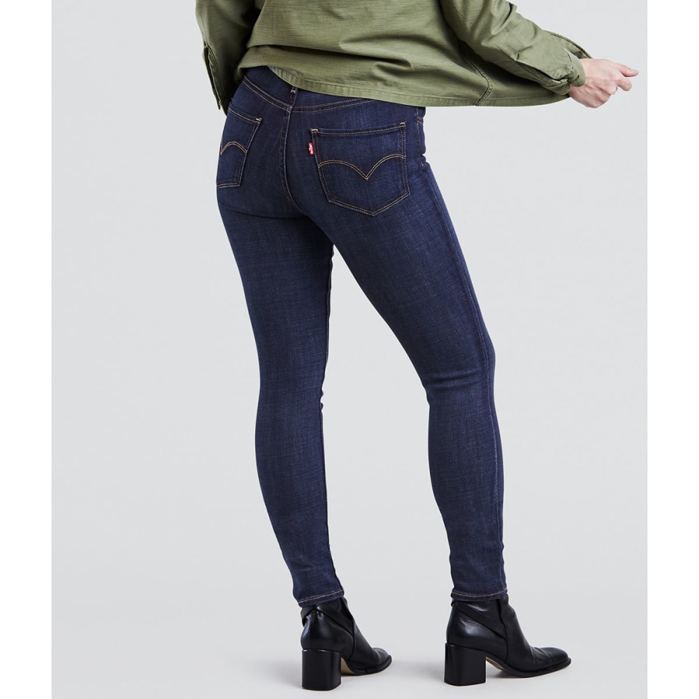 LEVIS Women's 721 High Rise Skinny Jeans - 0047-BLUE STORY