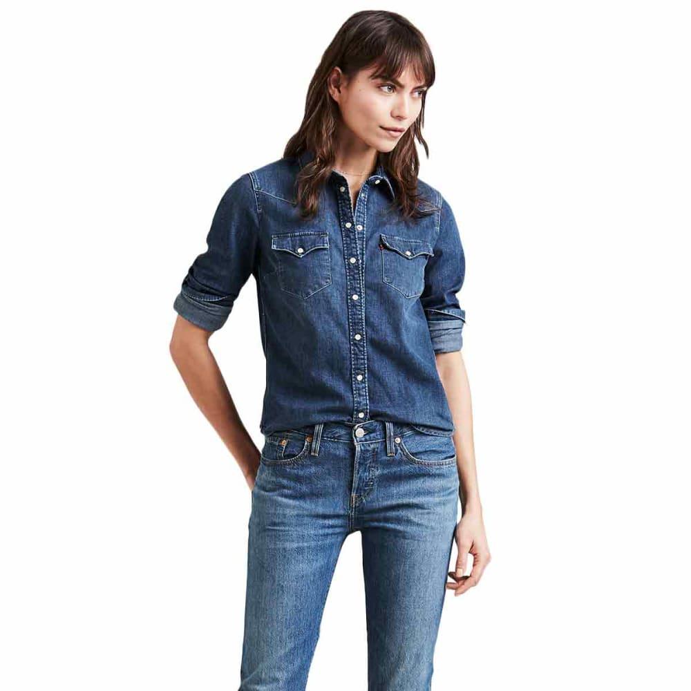 LEVI'S Women's Ultimate Long-Sleeve Western Shirt S