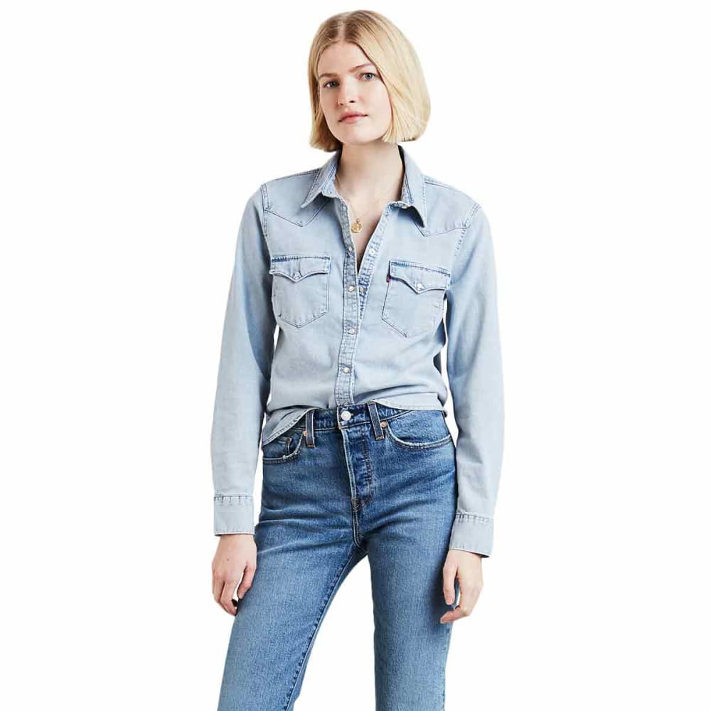 LEVI'S Women's Ultimate Long-Sleeve Western Shirt - 0010-RADIO STARR