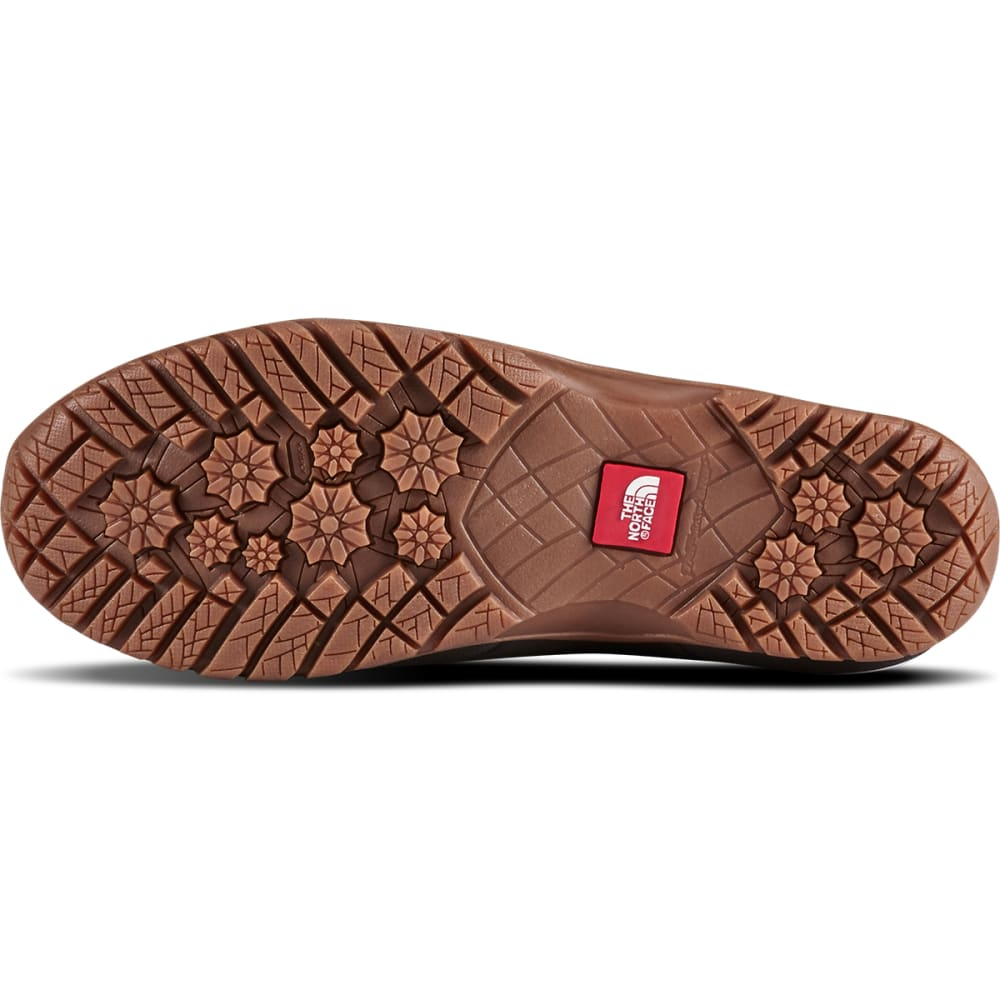THE NORTH FACE Women's Shellista Roll-Down Waterproof Winter Boots - BROWN/COFFEE-8KM