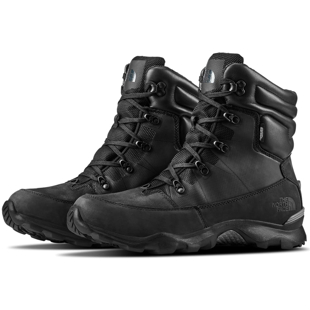 THE NORTH FACE Men's Thermoball Lifty 400 Waterproof Insulated Winter Boots - TNF BK/BELUGA GR-YXW