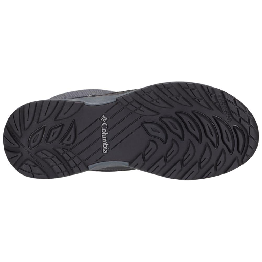 COLUMBIA Women's Meadows Shorty Omni-Heat 3D Insulated Waterproof Winter Boots - BLACK/STEAM 010