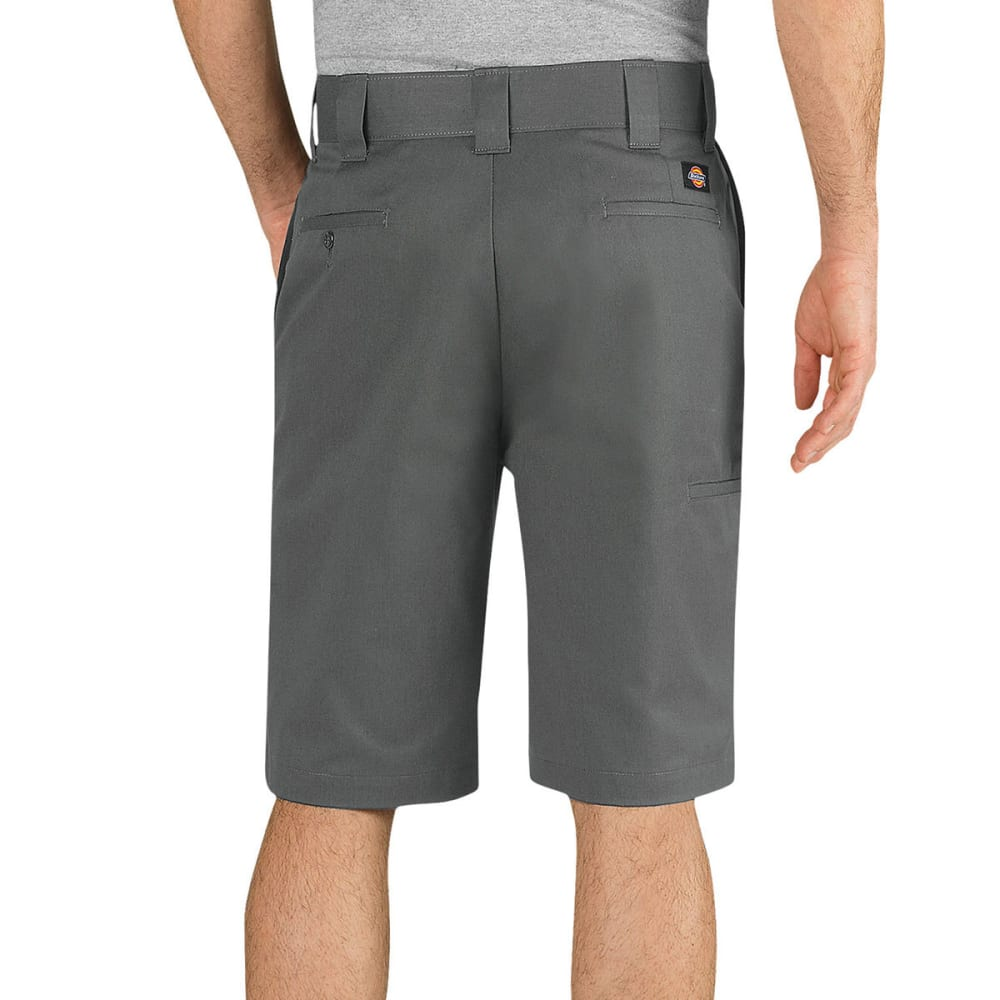 "DICKIES Men's Flex 11"" Regular Fit Work Shorts - VG GAVEL GRAY"