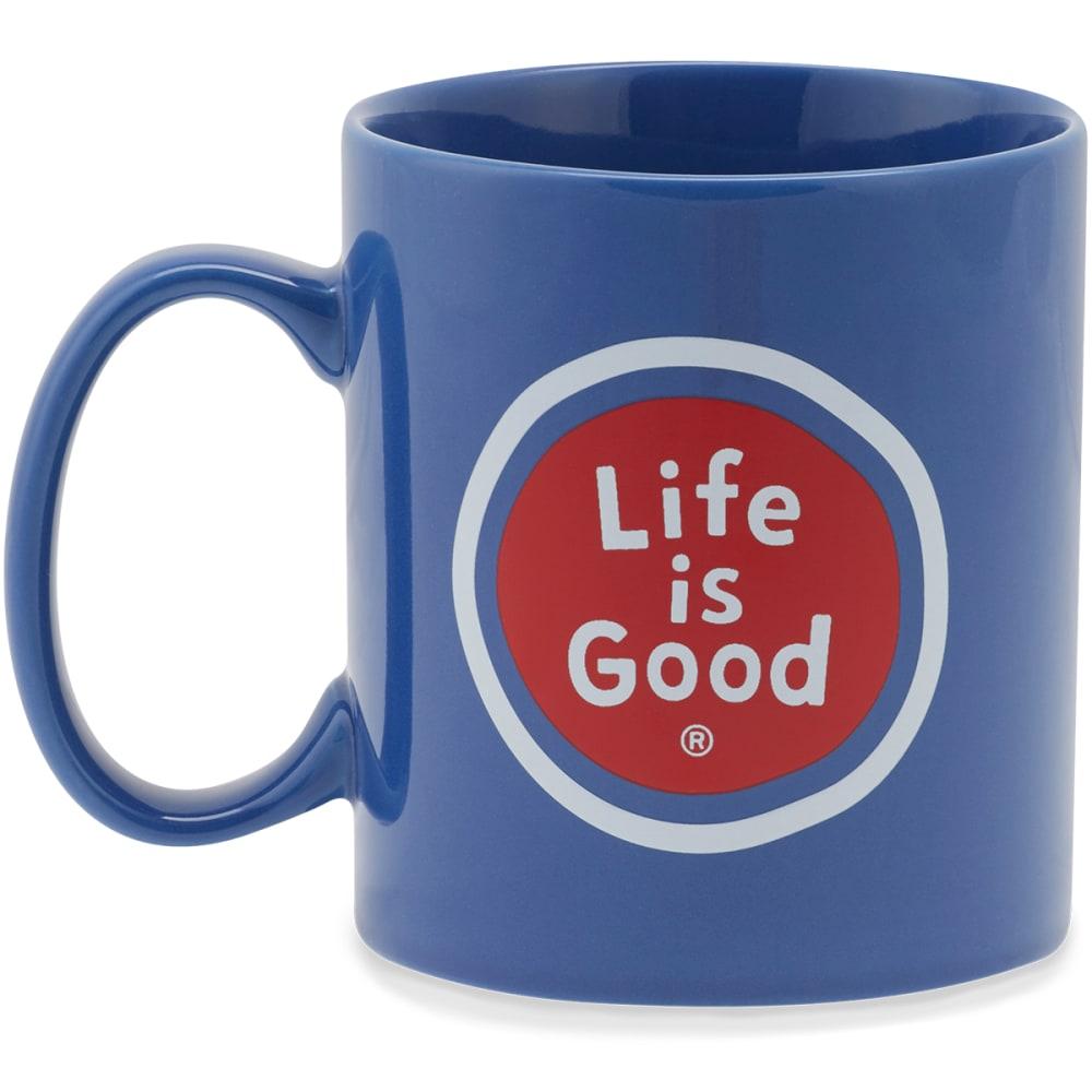 LIFE IS GOOD LIG Sphere Jakes Mug - DARKEST BLUE