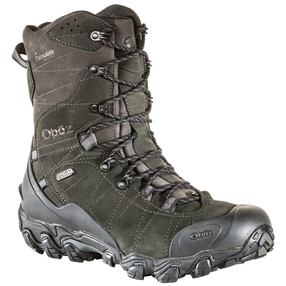 OBOZ Men's 10 in. Bridger Insulated Waterproof Storm Boots 9