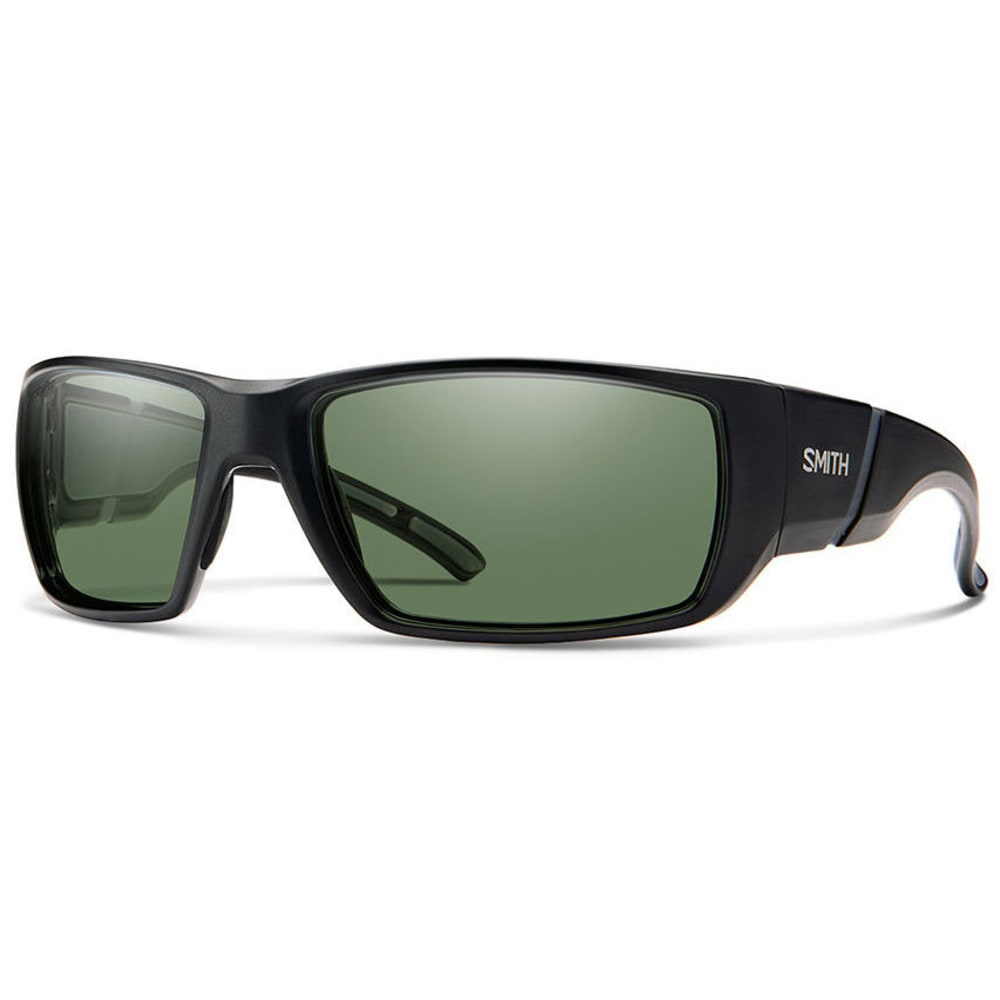 SMITH Men's Transfer Sunglasses - MTBLK/POLAR GRAY GRN