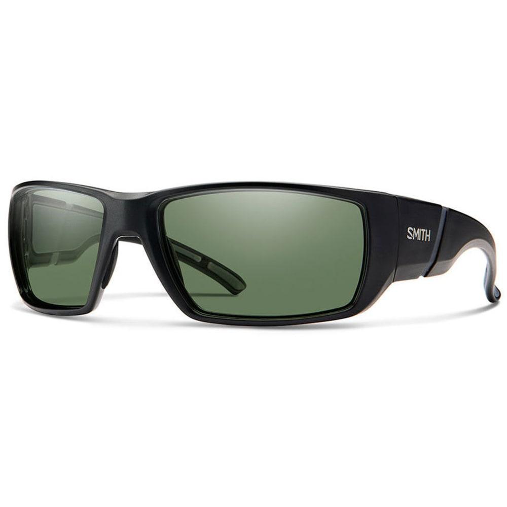 SMITH Men's Transfer Sunglasses - MTBLK/POLAR GRAY GRN