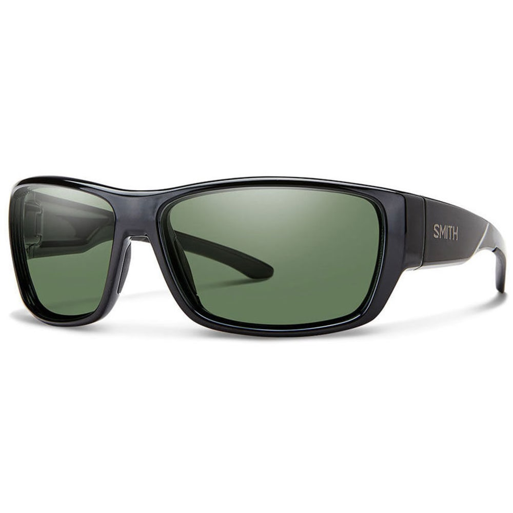 SMITH Men's Forge Sunglasses - MTBLK/POLAR GRAY GRN
