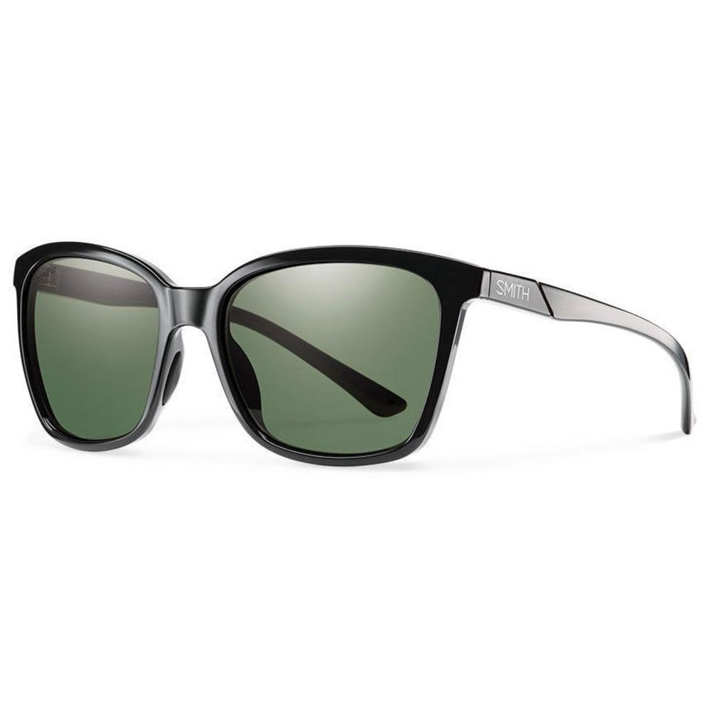 SMITH Women's Colette Sunglasses - BLK/PLRGRYGRN