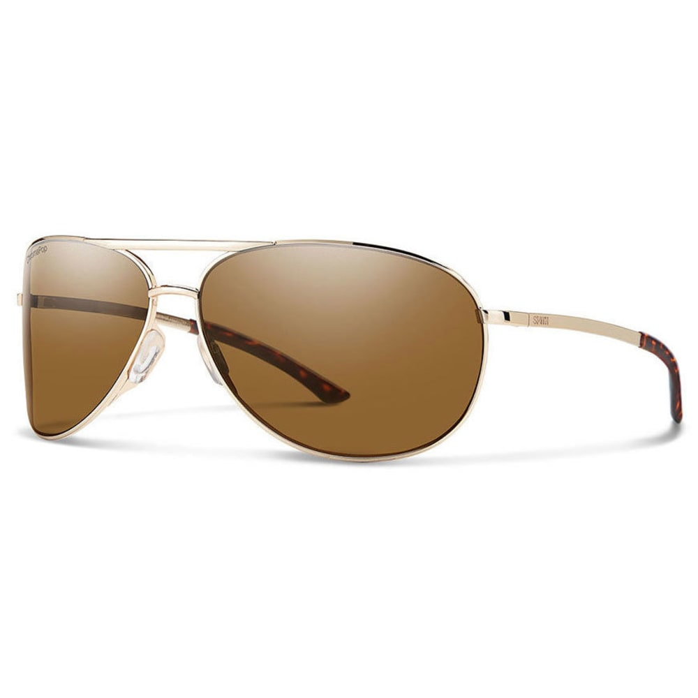 SMITH Women's Serpico 2.0 Sunglasses - GOLD POLARIZED BROWN