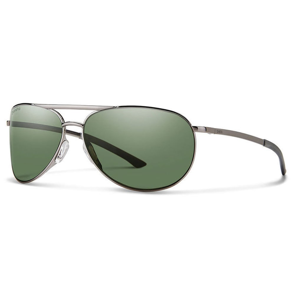 SMITH Women's Serpico Slim 2.0 Sunglasses - GUNMTL PLRGRAYGREEN