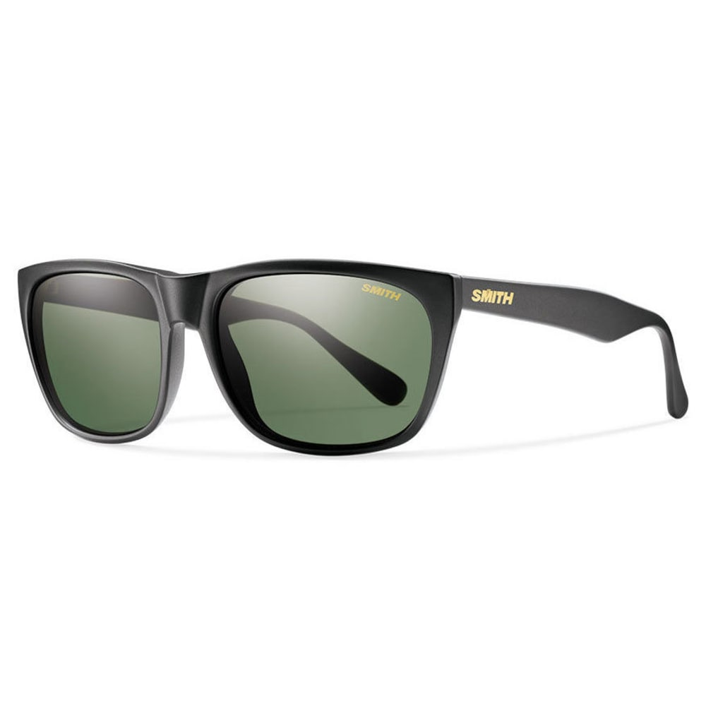 SMITH Men's Tioga Sunglasses - MTBLK POLARGRAYGREEN