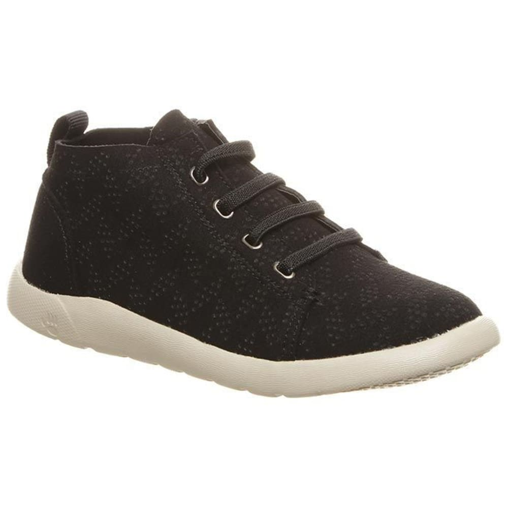 BEARPAW Girls' Gracie High Top Fashion Sneakers - BLACK II