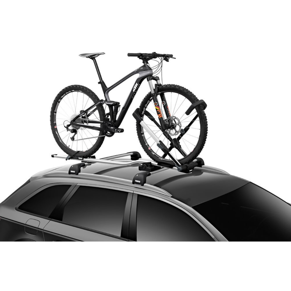 THULE UpRide Roof Bike Rack, Silver/Black - NO COLOR