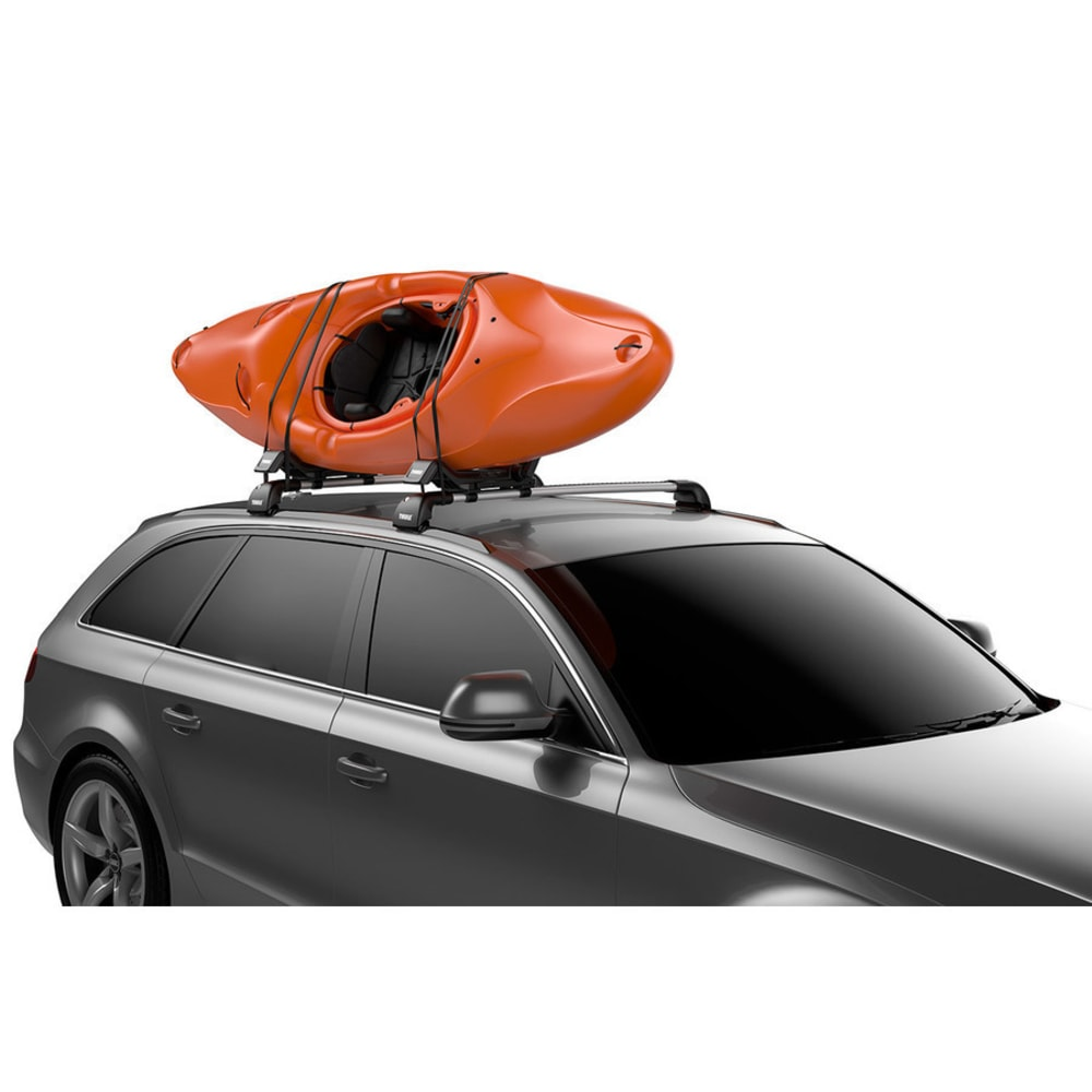 THULE Hull-a-Port XT Kayak Rack - BLACK/ALUMINUM