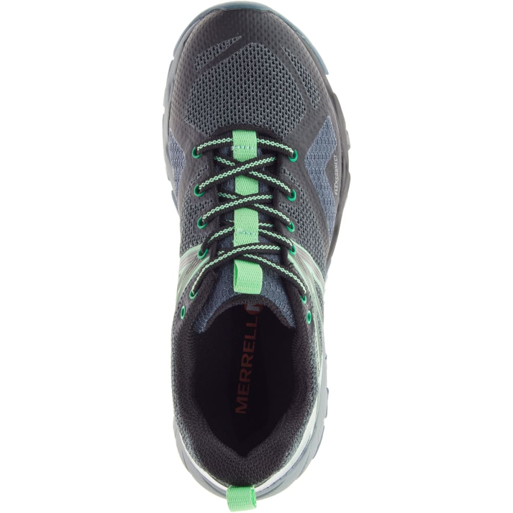 MERRELL Women's MQM Flex Gore-Tex Low Hiking Shoes - GREY/BLACK