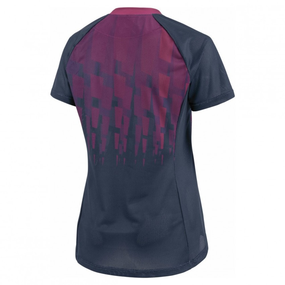 LOUIS GARNEAU Women's Sweep Cycling Jersey - DARK NIGHT/MAGENTA