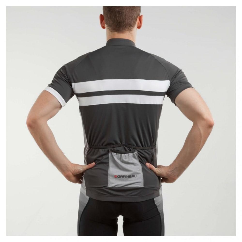 LOUIS GARNEAU Men's Evans Classic Cycling Jersey - GREY/WHITE