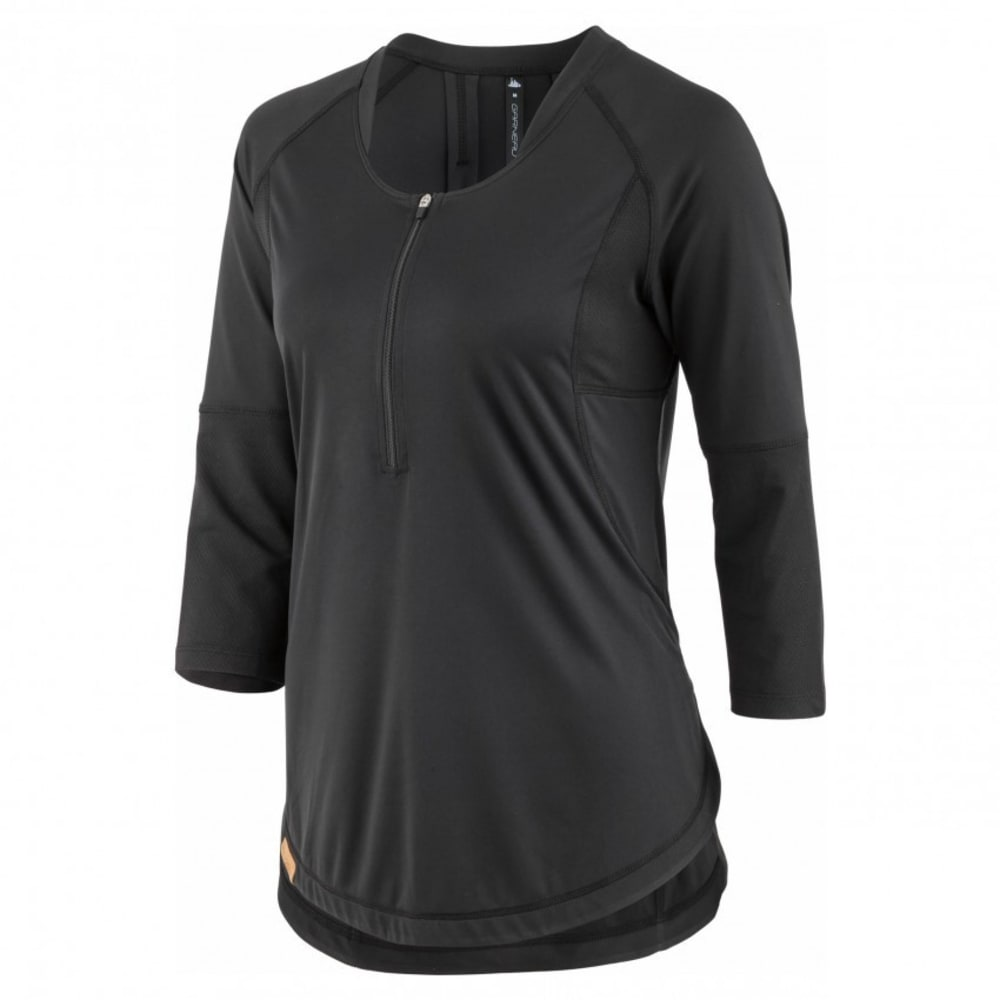 LOUIS GARNEAU Women's Milan Cycling Jersey - BLACK
