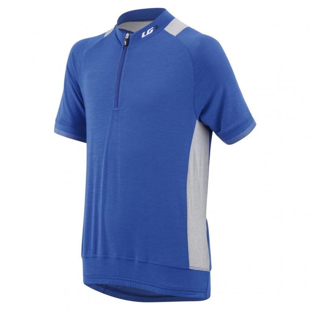 LOUIS GARNEAU Youth Lemmon Jr Cycling Jersey - DAZZLING BLUE