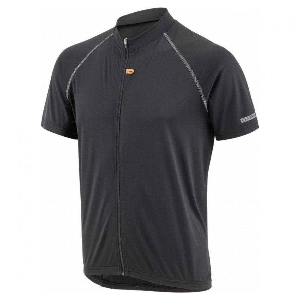 LOUIS GARNEAU Men's Manchester Cycling Jersey - BLACK