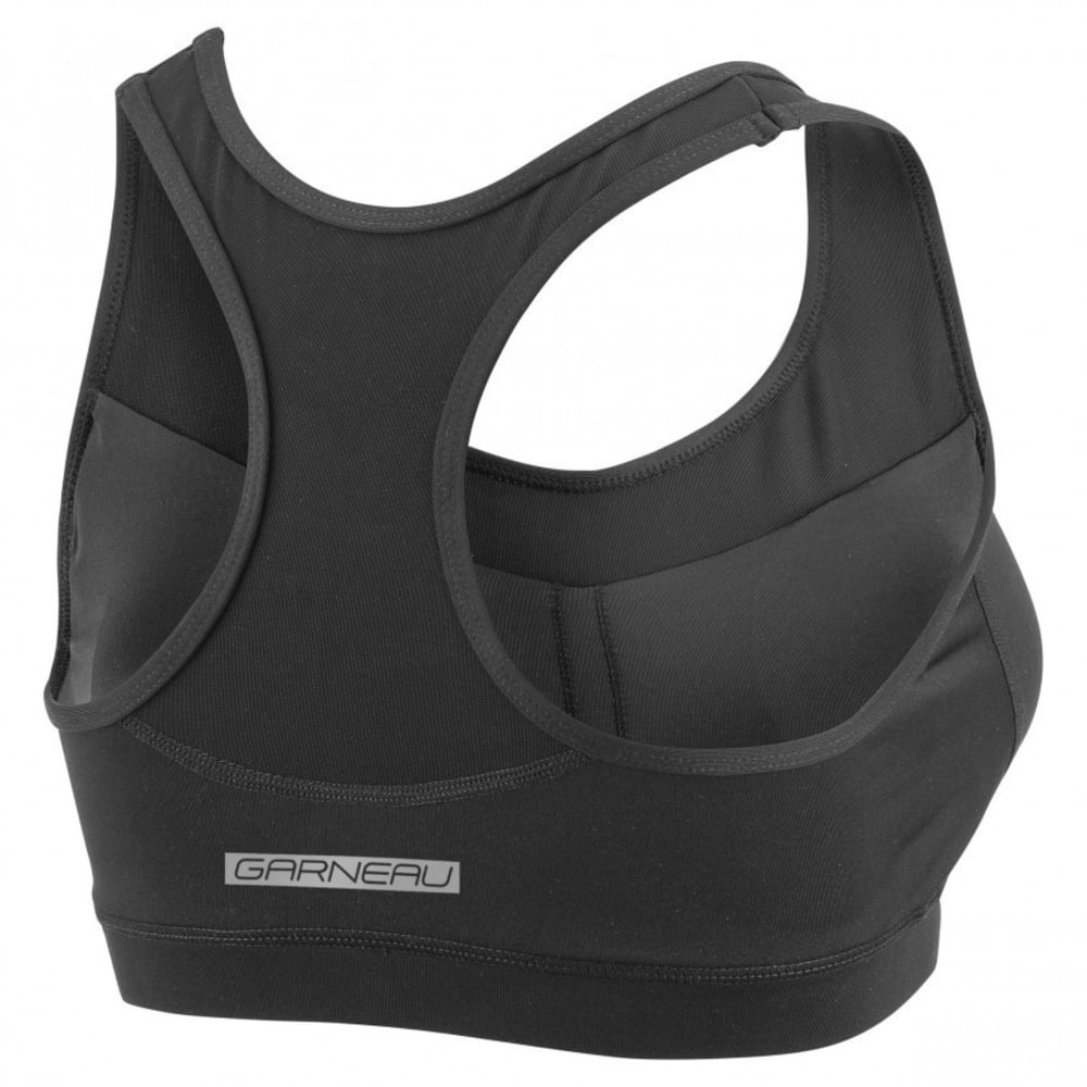 LOUIS GARNEAU Women's Verona Bra Sports Bra - BLACK