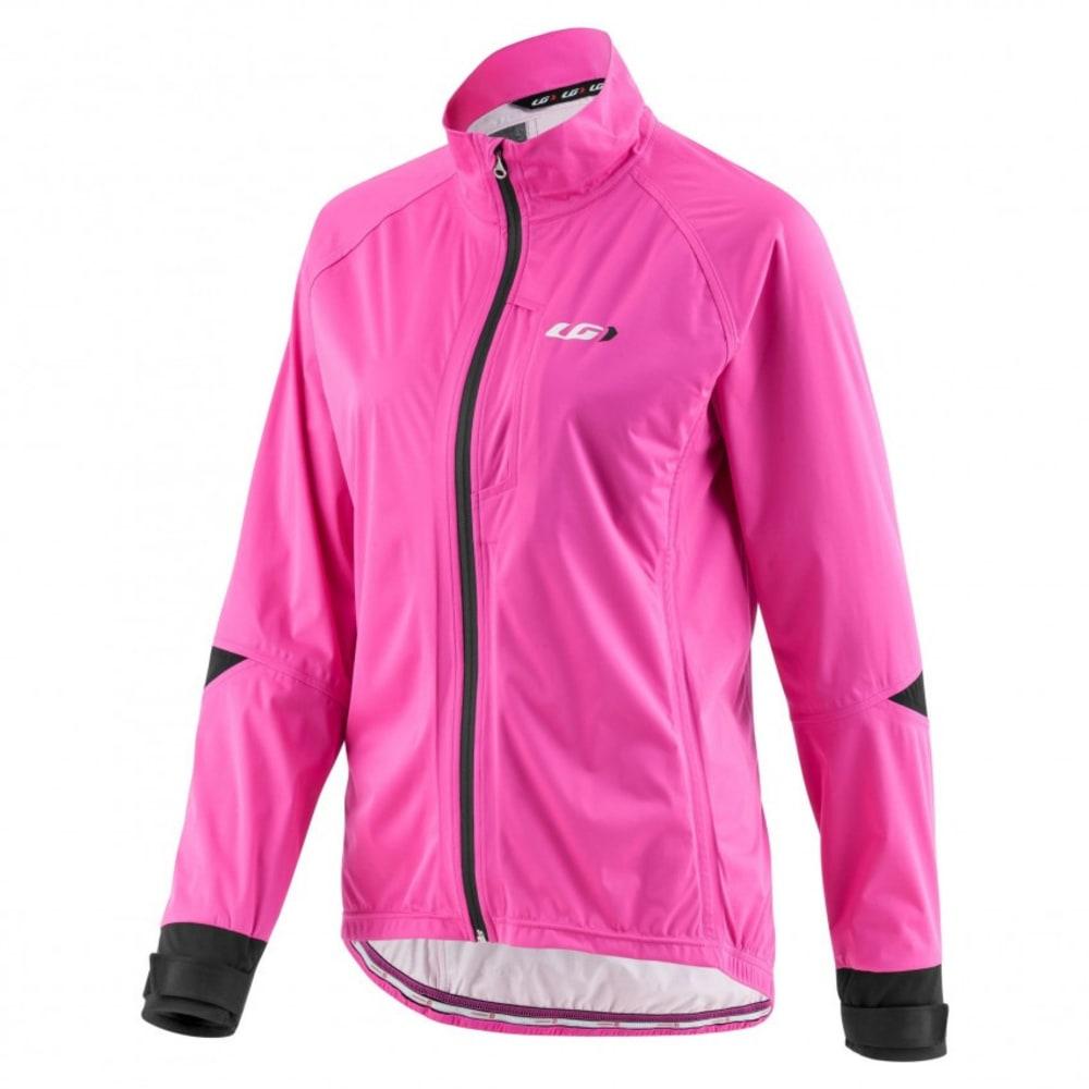 LOUIS GARNEAU Women's Commit WP Cycling Jacket - PINK GLOW