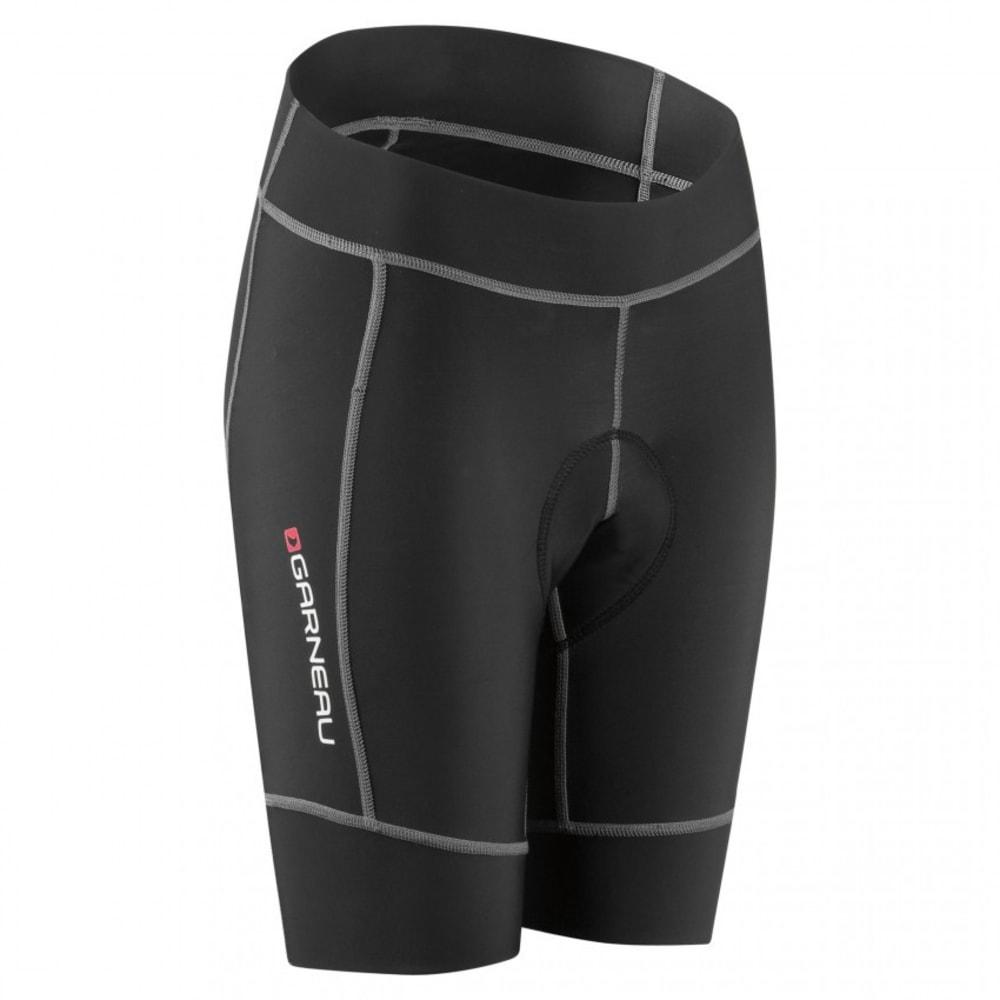 LOUIS GARNEAU Girl's Request Promax Jr Cycling Shorts, Black - BLACK