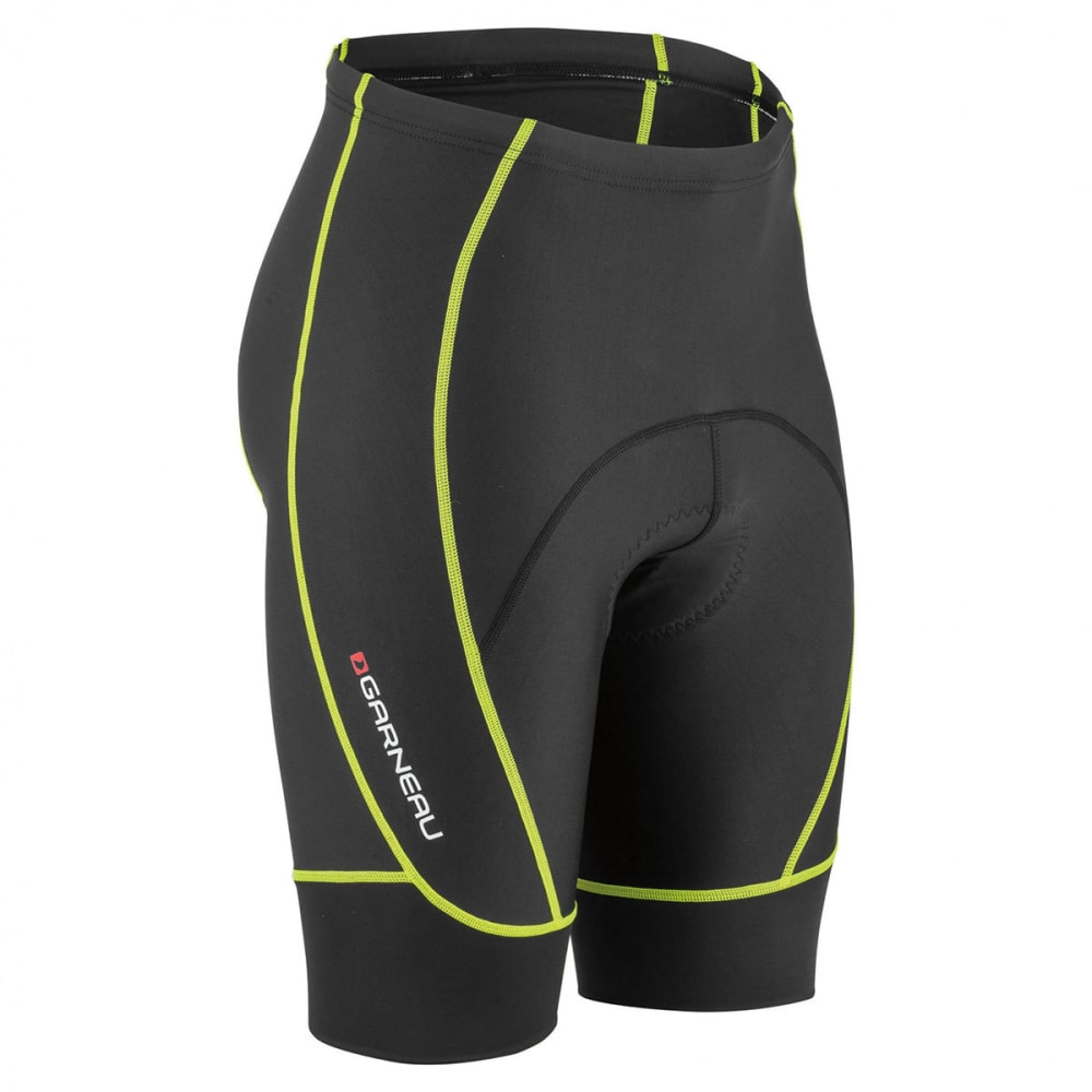 LOUIS GARNEAU Men's Neo Power Motion Cycling Shorts - BRIGHT YELLOW