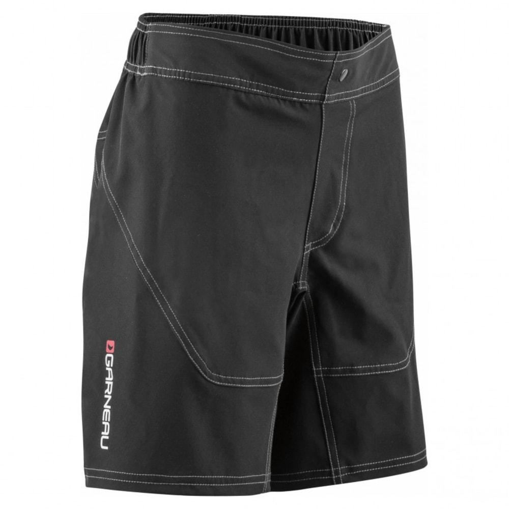 LOUIS GARNEAU Youth Range Jr Cycling Shorts - BLACK