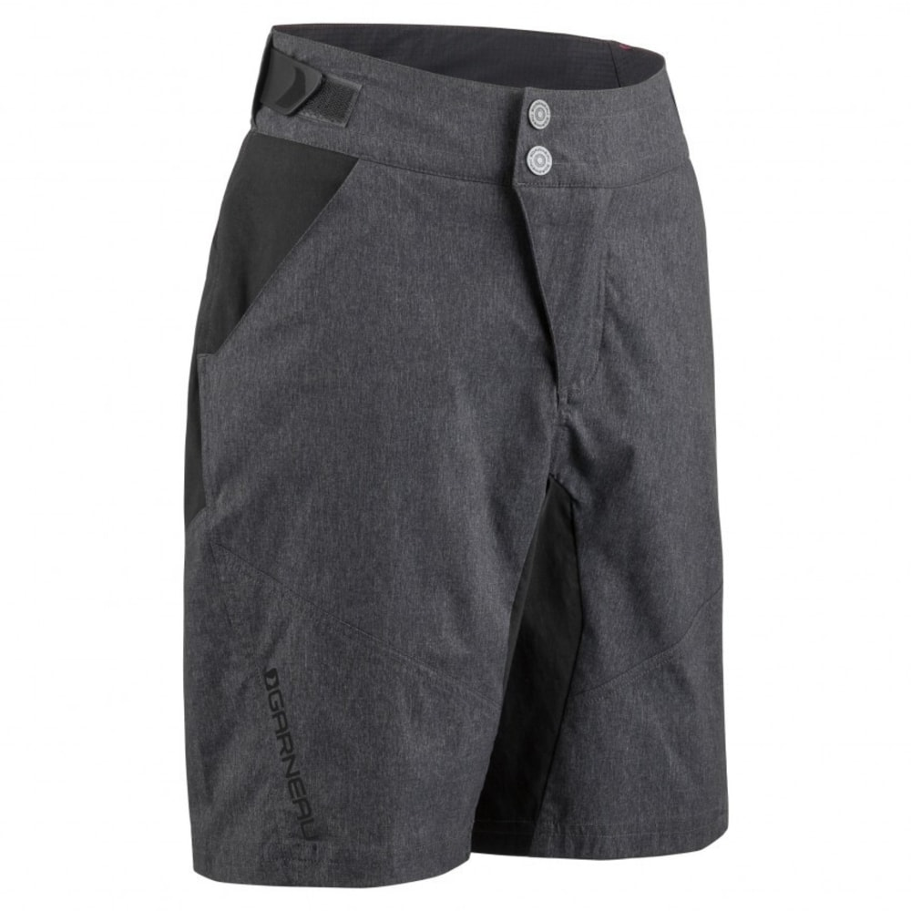 LOUIS GARNEAU Youth Dirt Jr Cycling Shorts - BLACK/GRAY