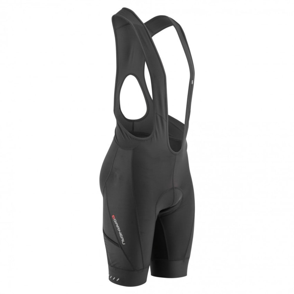 LOUIS GARNEAU Men's Optimum Cycling Bib, Black - BLACK