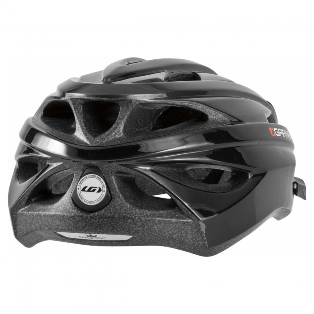 LOUIS GARNEAU Unisex Majestic Cycling Helmet - BLACK/GRAY