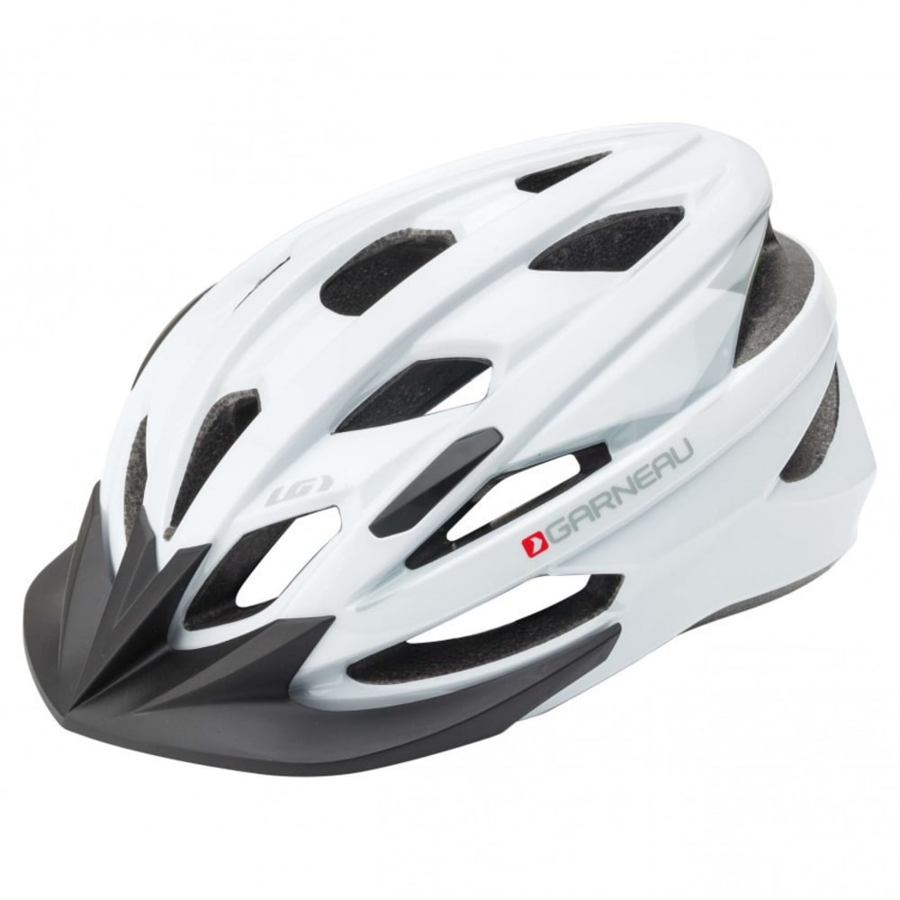 LOUIS GARNEAU Unisex Majestic Cycling Helmet - WHITE
